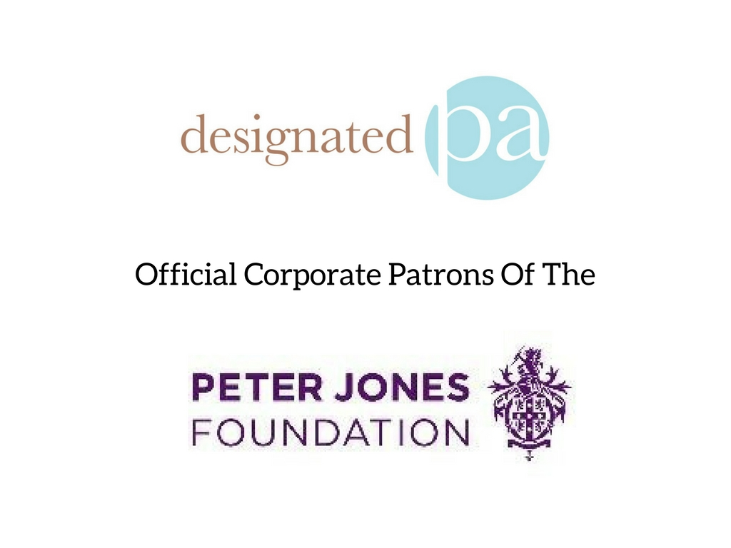 Designated PA Are Now a Corporate Patron Of The Peter Jones Foundation