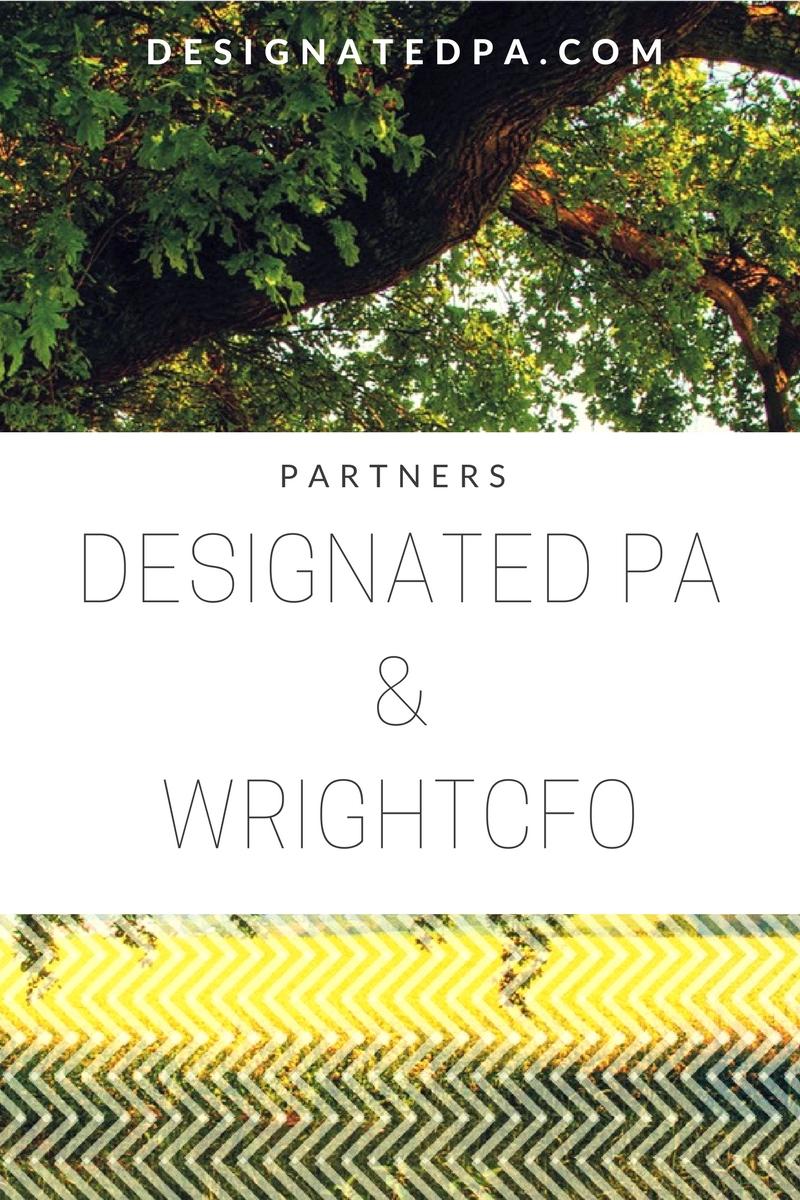 Designated PA & WrightCFO Partnership
