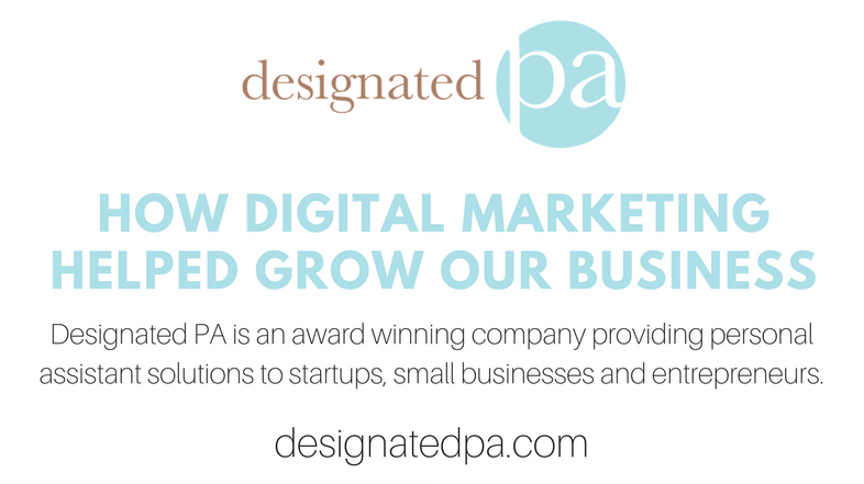 How Digital Marketing Helped Grow our Business