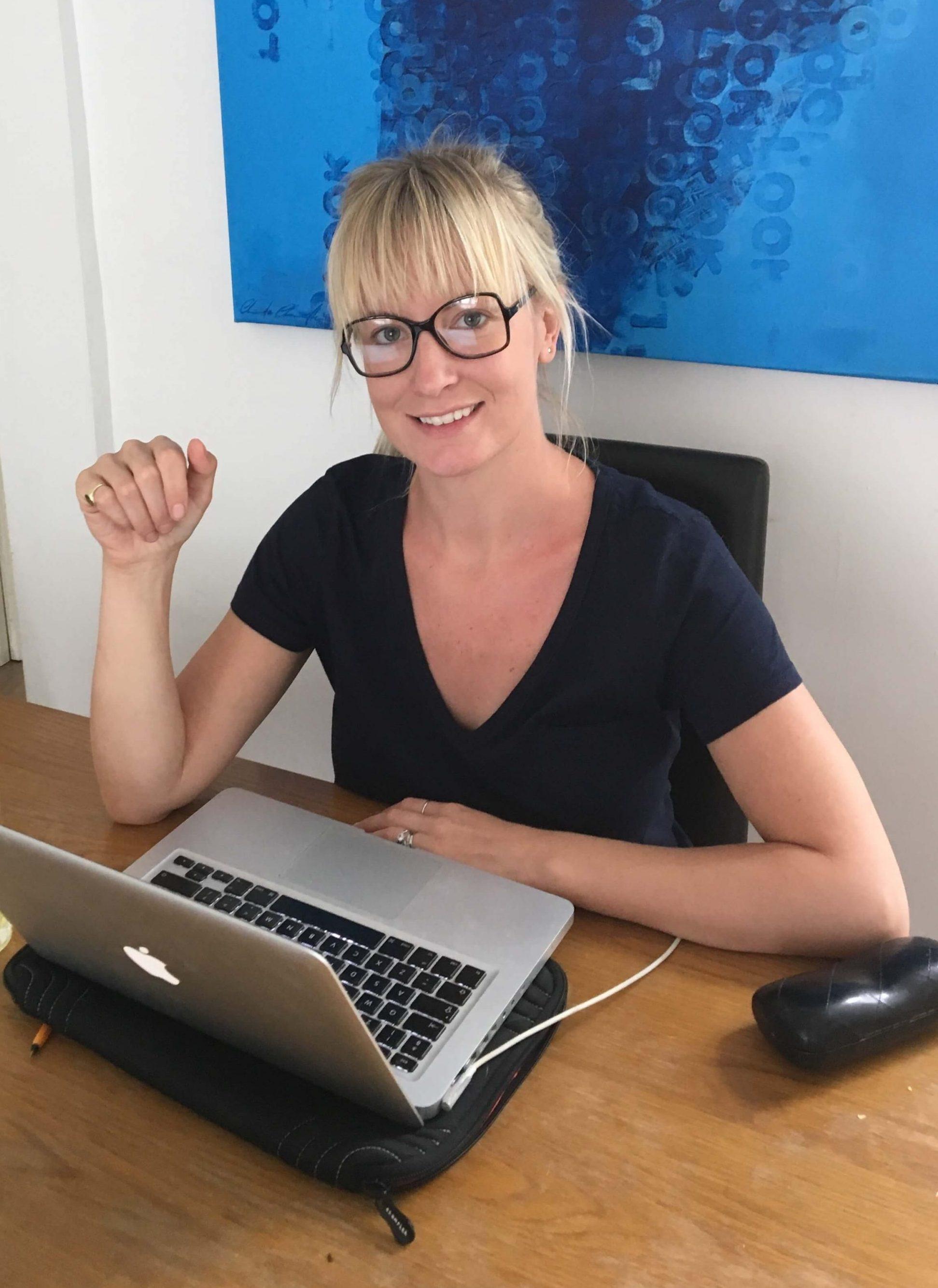 Sophie working for Peter Jones Foundation