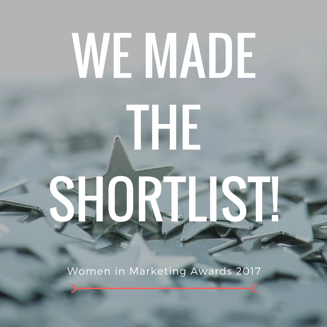 The Designated Group shortlisted at the Women In Marketing Awards 2017