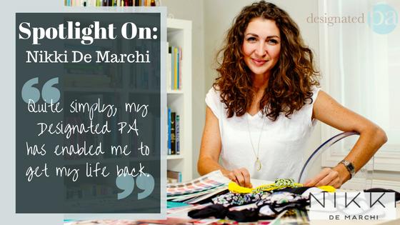 Client Spotlight – Nikki De Marchi