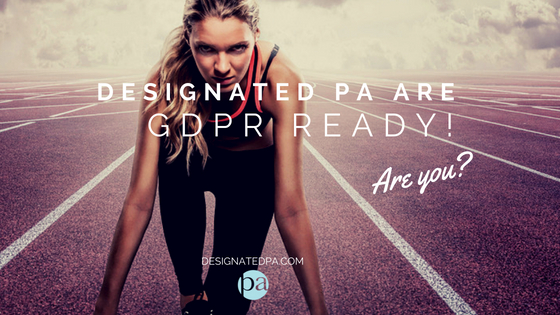 Designated PA are GDPR ready!
