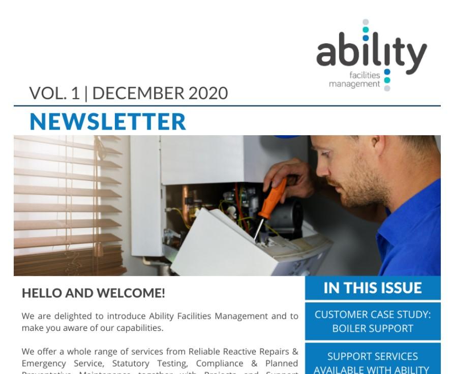 Ability FM newsletter